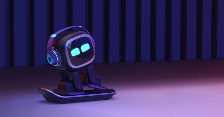 Bigger picture: EMO the desktop pet