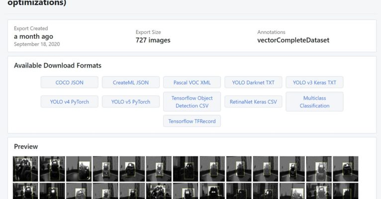 Deep Learning: Anki Vector Robot Dataset